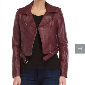 🆕 ROMEO + JULIET couture faux leather jacket